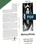 Marcelo Calvo - Mística y paisaje. Ensayos sobre la obra de Cecilio Guzmán de Rojas