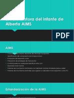 Escala motora del infante de Alberta AIMS