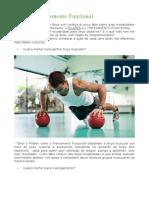 Pilates e Treinamento Funcional