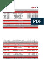 Programación Deportiva Claro TV