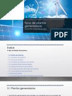 Tipos de plantas generadoras