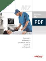 Mindray M7 MSK brochure