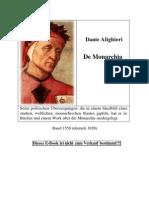 Dante Alighieri - De Monarchia