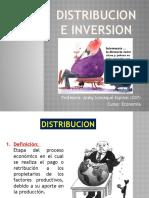 Distribucion e Inversion