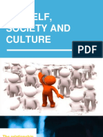 the Self, Society and Culture