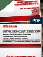 Resumen de desarrollo y construcción del Proyecto