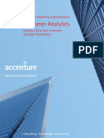 Accenture Customer Analytics Cutting a New Path to Growth and High Performance