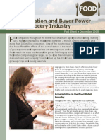 Consolidation and Buyer Power in the Grocery Industry