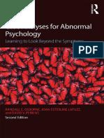 [Psicopatologia] - Randall E. Osborne, Joan Esterline Lafuze, David V. Perkins-Case Analyses for Abnormal Psychology_ Learning to Look Beyond the Symptoms-R.pdf