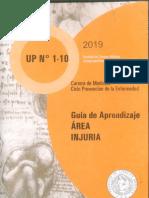 Injuria - Cuaderno del Alumno 2019
