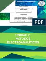 ANÁLISIS INTRUMENTAL-UNIDAD 2 -EQUIPO 1