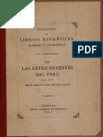 Casas, Bartolome de Las, De Las Antiguas Gentes Del Perú 1892