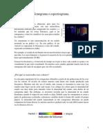 Sonograma o espectrograma