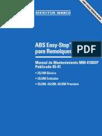 Manual ABS remolque Meritor WABCO