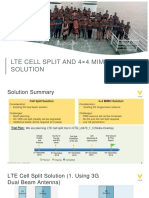 LTE Cell Split and 44 MIMO Solution.pptx