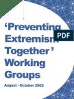 2005 Preventing Violent Extremism Together Report