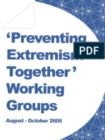 2005 Preventing Violent Extremism Together Report