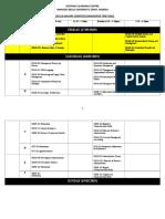 Final Jan Semester 2019 Timetable