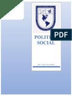 Politicas Sociales y de Desarrollo