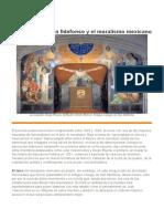 San Ildefonso y el muralismo