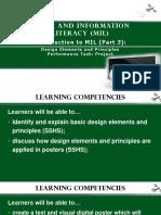 Lesson 1 Part 3 DESIGN ELEMENTS AND PRINCIPLES