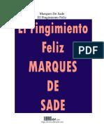 Sade Marques De - El Fingimiento Feliz.PDF.pdf