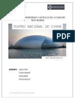 TEATRO NACIONAL DE CHINA
