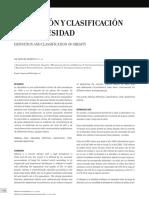 DEFINICION Y CLASIFICACION DE OBESIDAD