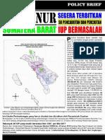 Policy Brief Tambang di Sumatera Barat