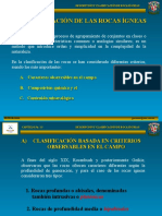 CLASIFICACION DE ROCAS IGNEAs
