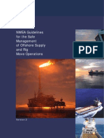 Guidelines for the Safe Management of Offshore Supply and Rig Move Operations, UPDATET JUN 2009