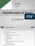 1- Classification of Dams