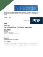 Cheese Demand Rising - New Market Opportunities_New Delhi_India_9-30-2015