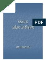 Revisions Logique Combinatoire