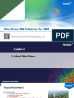 Fiberhome IBS Solution for TBG_Rev3