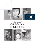 Carolyn Marsden Discussion Guide