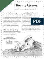 Bunny Honey Activity Sheet #3