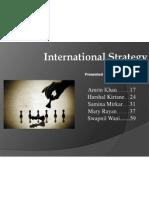 International Strategy