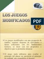 Los Juegos Modificados e. f.
