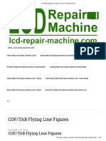 COF_TAB Flying Line Figures _ LCD TV Repair Machine
