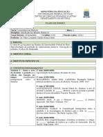 Plano de Disciplina - Introdução aos Estudos Históricos - 2020.1