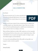 GIDEON'S WAR by Howard Gordon—read the excerpt!