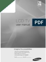 Samsung LCD Manual