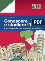 Conoscere e Studiare italia indice e cap
