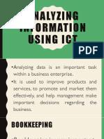 Analyzing information using ict