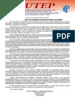 2020, 36º ANIVERSARIO DEL FALLECIMIENTO DE HORACIO ZEBALLOS GÁMEZ