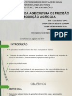 UTILIZAÇÃO DA AGRICULTURA DE PRECISÃO NA PRODUÇÃO