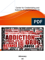 International Center for Credentialing and Education of Addiction Professionals..advocacy final