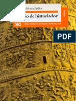 Moradiellos, Enrique. El oficio de historiador