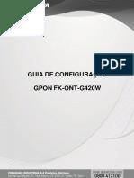 ONT GPON FK-ONT-G420W
